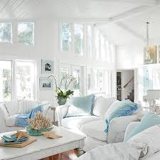 room beach cottage style rooms white sofa white on white coastal decor with white sliopcover sofa middot white b