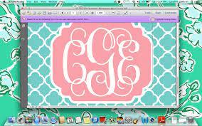 49+] Create a Monogram Wallpaper Online ...