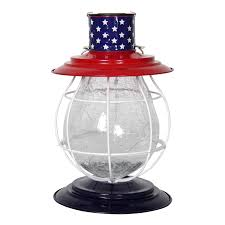 Red White Blue Solar Lights