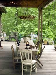winning outdoor living area rustic