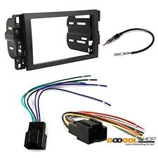 amazon com chevrolet 2007 2009 equinox car stereo dash install Trailer Wiring Harness at Window Wiring Harness 2009 Equinox