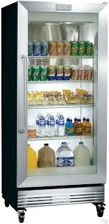 glass front door refrigerator commercial refrigerator with dual pane glass display door heavy duty locking casters