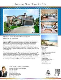 Microsoft Real Estate Flyer Templates House Flyer Template Open Listing