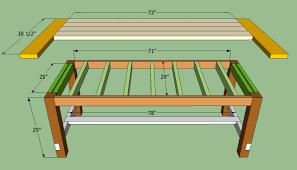 Diy Kitchen Table Farmhouse Kitchen Table Diy Home Design Ideas