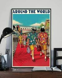 Amazon.com: Daft Punk Around The World Portrait Paper Poster No Frame (11 X  17): Posters & Prints