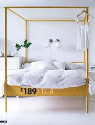 Poster Bed Amazing Canopy With The Best Ideas On Ikea Bedroom ...