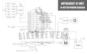 motogadget m unit wiring bikebrewers com Painless Wiring Harness Diagram at Electric Slide Out Wiring Diagram