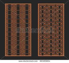 laser cutting set wall panels jigsaw die cut ornaments greek cutout silhouette stencils on die cut metal wall art with wall tapestry vectors download free vector art stock graphics