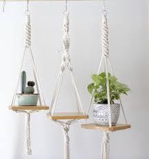 Macrame, Macrame plant hangers, <b>Diy hanging</b> shelves