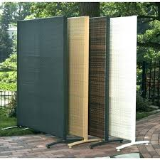 unique free standing outdoor fence u0977308 free standing privacy fence backyard privacy dividers backyard divider popular