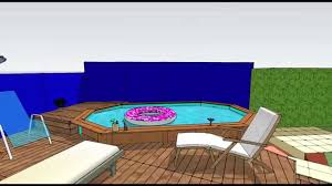 Terrasse De Piscine Bois Youtube
