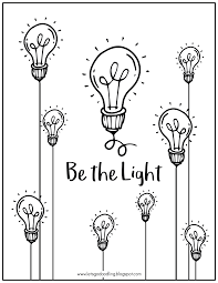 Light Bulb Coloring Page Free Printable Coloring Page Light Bulb