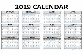 2019 Calendar Community Events And City Dates City Of