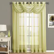 Lime Green Bedroom Curtains Sheer Green Curtains