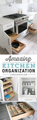 Kitchen Cupboard Organizing 17 Best Ideas About Organizing Kitchen Cabinets On Pinterest
