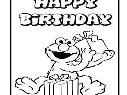 Free Printable Sesame Street Coloring Sheets Birthday Pages Abc