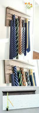 ... Medium Image for Jewelry Making Organizer Best Tie Storage Ideas On Tie Rack  Organize Ties Home