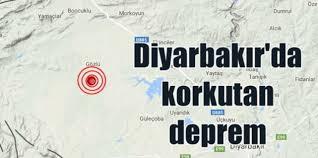 Diyarbakır sallandı! İlçede meydana gelen deprem merkezde hissedildi!