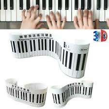 Piano Keys Chart For Beginners Details About Piano Keyboard Simulation Practice Chart 88 Keys With Notes For Beginner Tools
