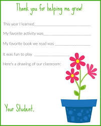 Printable Thank You Cards For Teachers To Give To Students