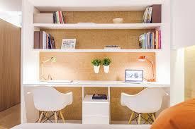 scandinavian home office. comfy scandinavian home office design