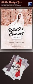 christmas flyer templates psd vector format christmas winter party flyer psd design