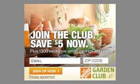 join the home depot garden club for awesome info and offers limited availability get it free