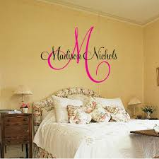 wall decal letters custom