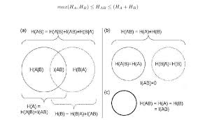 Parts Of A Venn Diagram Venn Diagram Representations Of The Decompositions Of Joint