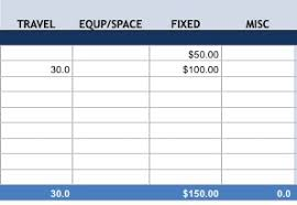 Project Budget Template For Excel Free Download