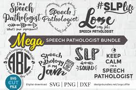 Simply download artwork and prints from home, at your local store, or use the online delivery service. Speech Language Pathologist Svg An Slp Svg Bundle For Craft 407165 Cut Files Design Bundles
