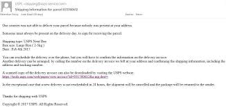 Ongoing Phishing Scams Fake Package Delivery Email Scam Sterling