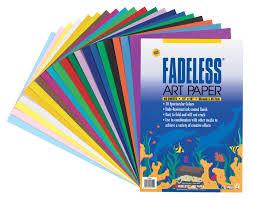 Amazon Com Fadeless 0057530 Sulphite Acid Free Art Paper 50 Lb