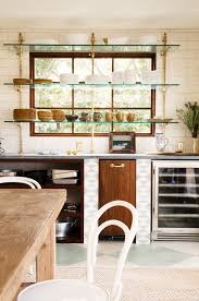Open Kitchen Styling Open Shelves In Your Kitchen Alice Lane
