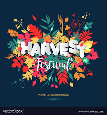 Harvest Festival In Paper Style Fall Style For