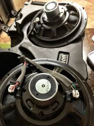 planning to replace the factory harman kardon subwoofers page 3 so it looks like be the factory harman karman don t have all coils hooked up the second speaker has only one coil hooked up from factory see pic