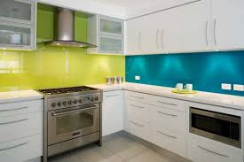 colorful kitchen ideas. Colorful Kitchen Design Ideas With Blue And Green Wall