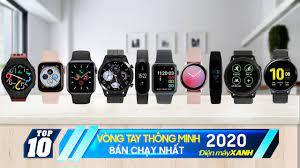 Top 10 đồng hồ-vòng tay thông minh bán chạy nhất 2020 Điện máy XANH