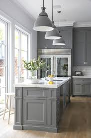 French Style Kitchen Cabinets Magnificent Grey Modern In 48 Kitchen Ideas Pinterest Kitchen Kitchen