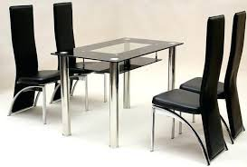 full size of black glass kitchen table and 4 chairs small dining set round with inspiring