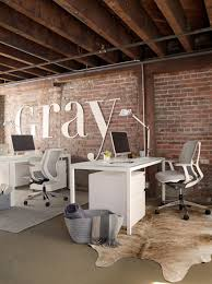 modern industrial office design. gray magazineu0027s open concept industrial office modern design p