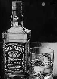 Pencil Drawing Jack Daniels By Lazzzyv Kleurplaten Arte En