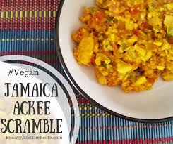 jamaica ackee scramble beauty and the beets
