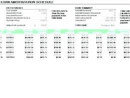 Car Loan Amortization Schedule Excel Photo 7 Of Template