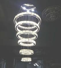 modern contemporary large crystal circle 6 rings chandelier luxry with regard to crystal ring chandelier