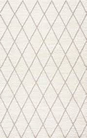 Ivory White Rugs Shop Online with Yarn Loom Rugs