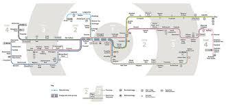 metrolink map zones small 1