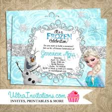 elsa birthday invitations disney frozen olaf elsa birthday invitations printable digital or