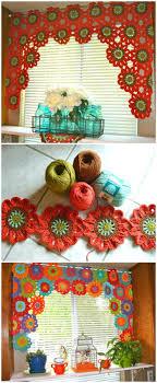 Free Crochet Curtain Patterns Magnificent Design