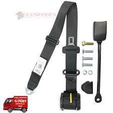 holden commodore vn vg vp left front safety seat belt new sedan ute wagon apv